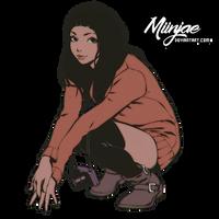 Render: Chica sentada by MiinJae