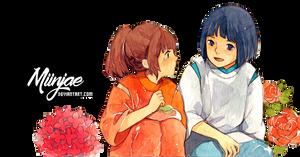 Render: Sen to chihiro no kamikakushi by MiinJae