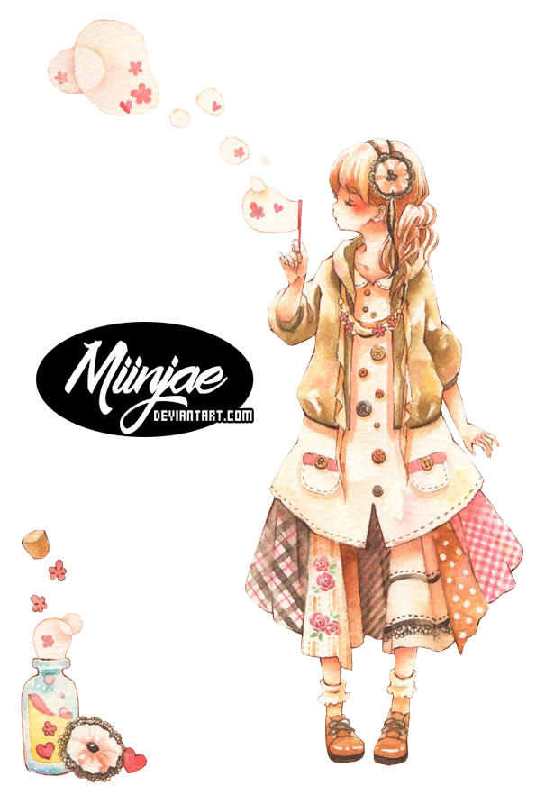 Bubbles by MiinJae