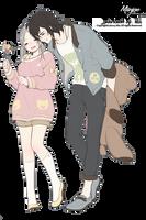 Render: Couple - pareja 2 by MiinJae