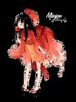 Render: Girl goldfish 01 by MiinJae
