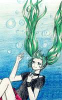 Hatsune Miku by LottiBaskerville97