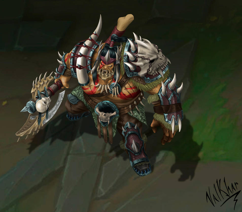 BeastHunter Sion by Valkhar