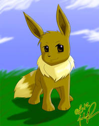 Eevee Sees What You Did There by professorq