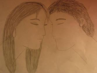 a kiss by Snowangel22