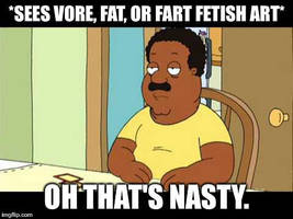 Cleveland Brown That's Nasty meme by Wcher999
