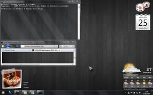 Windows 7 Simple Black Glass by feliipetaumaturgo