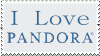 I love Pandora radio stamp by SureWhyNot777