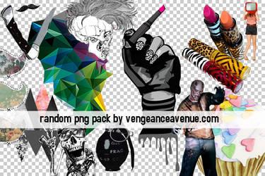 Random PNG pack by vengeanceavenue
