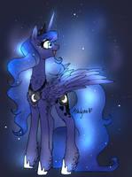 Princess Luna by ShlynnOfDoom