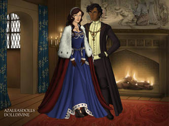 Lady Elina Archibald and Lord Maxwell Bass by John95400