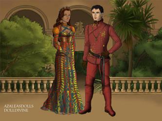 Prince Barry Allen and Princess Iris West-Allen by John95400