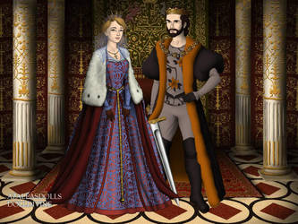 King Thomas II Wayne and Queen Martha Kent-Wayne by John95400