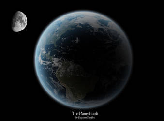 The Planet Earth by darknessoutsider