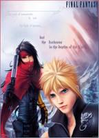 Final Fantasy VII Print by K-6