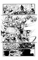 Silver Surfer Issue 1 Page 1 by GothPunkDaddy