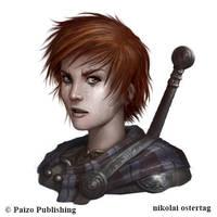 Pathfinder - IOBARIAN WARRIOR by NikolaiOstertag