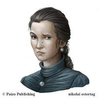 Pathfinder - Townsperson by NikolaiOstertag