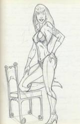 Vampirella IV by yasinyayli