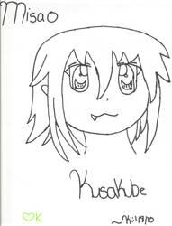 Misao Kusakube by amanoharauchiha