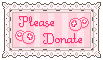 Please Donate Stamp by StampMakerLKJ