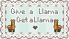 Llama For Llama Stamp by StampMakerLKJ
