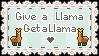 Llama For Llama Stamp by StampMakerLKJ