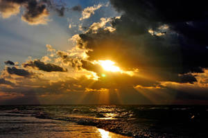last sunset by artismagica