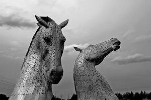Kelpies by artismagica
