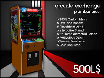 Arcade Exchange - Plumber Bros [WIDE] by darianknight
