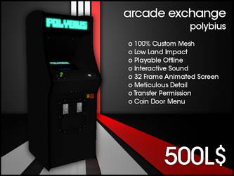 Arcade Exchange - Polybius [WIDE] by darianknight