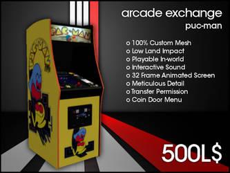 Arcade Exchange - Puc-Man [WIDE] by darianknight