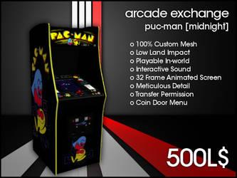 Arcade Exchange - Puc-Man Mdnight [WIDE] by darianknight