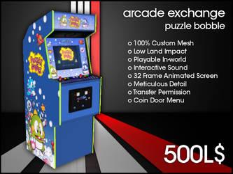 Arcade Exchange - Puzzle Bobble [WIDE] by darianknight