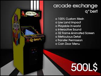 Arcade Exchange - QBert [WIDE] by darianknight