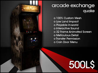 Arcade Exchange - Quake [WIDE] by darianknight