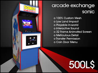 Arcade Exchange - Sonic [WIDE] by darianknight