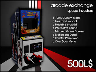 Arcade Exchange - Space Invaders [WIDE] by darianknight