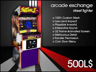 Arcade Exchange - Street Fighter [WIDE] by darianknight