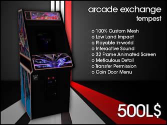 Arcade Exchange - Tempest [WIDE] by darianknight