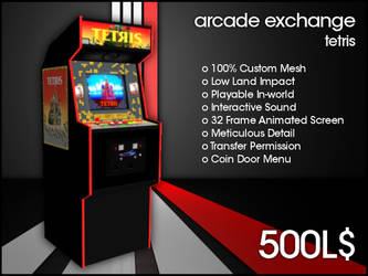 Arcade Exchange - Tetris [WIDE] by darianknight