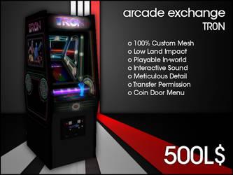 Arcade Exchange - TR0N [WIDE] by darianknight