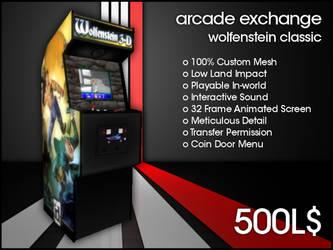 Arcade Exchange - Wolfenstein Classic [WIDE] by darianknight