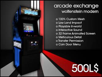 Arcade Exchange - Wolfenstein Modern [WIDE] by darianknight