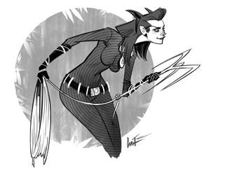Catwoman 1 by nomadsdraw