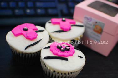 Celestia Daenerys Cupcakes by nocturne-hime