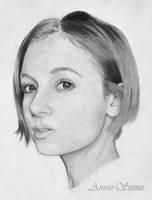 Redhead Portrait by Annie-sama