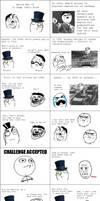 World War II Rage Comic by myvideogameworld