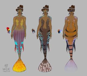 Vinuma Fish Colors by Vahlre