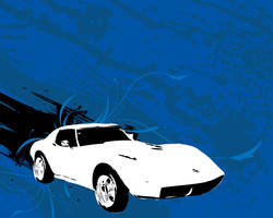 Corvette by legobrickmaster